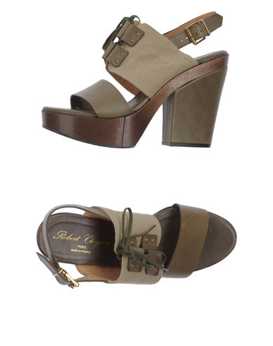 ROBERT CLERGERIE - Platform sandals