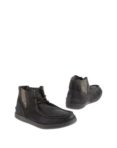 DIESEL - High-top dress shoe