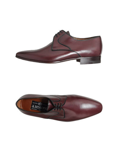 A.TESTONI - Lace-up shoes