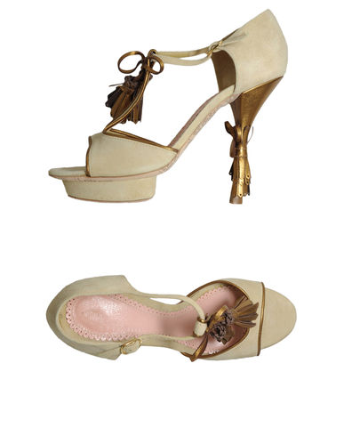 JOHN GALLIANO - Platform sandals