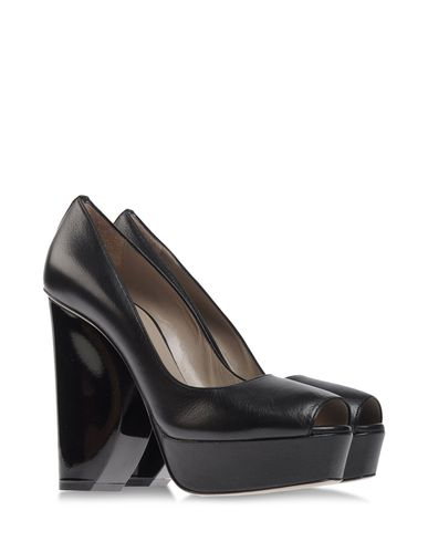 CALVIN KLEIN COLLECTION - Pumps with open toe