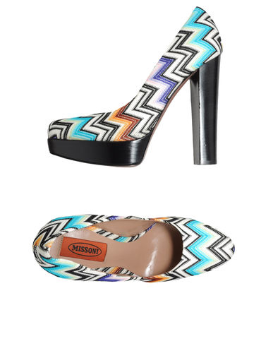 MISSONI - Platform pumps