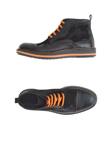 ENRICO FANTINI - High-top dress shoe
