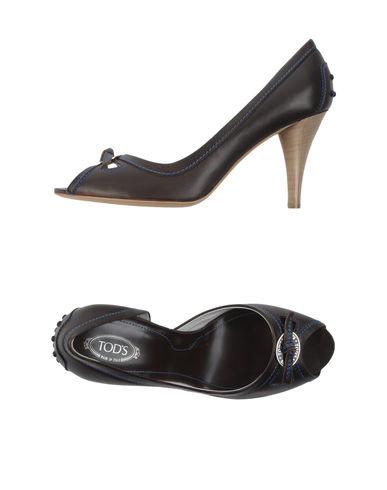TOD'S - Pumps with open toe