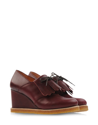 SWEDISH HASBEENS Loafers  Lace-ups Brogues on shoe