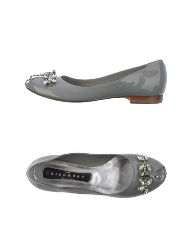 JOHN RICHMOND - Peep-toe ballet flats