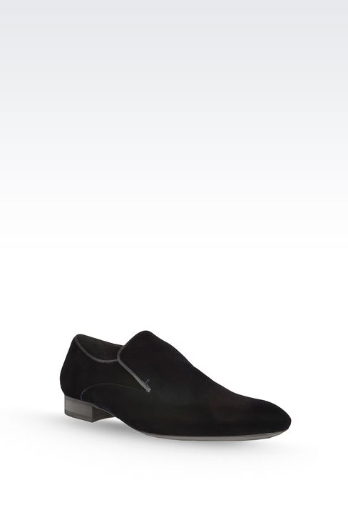 EVENING LOAFER IN VELVET
