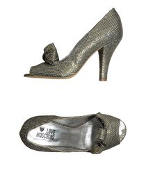 LOVE MOSCHINO - Pumps with open toe