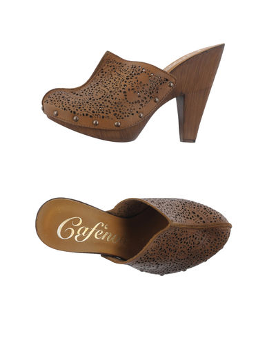 CAFe'NOIR - Open-toe mule