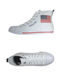 POLO RALPH LAUREN - High-top trainers