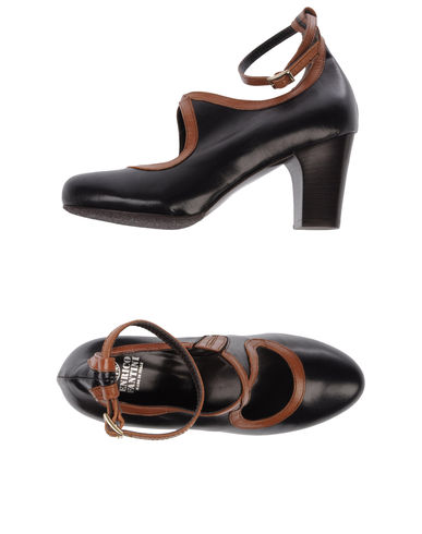 ENRICO FANTINI - Closed-toe slip-ons