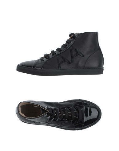 ALESSANDRO DELL'ACQUA ROUGE - High-top sneaker