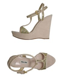 MIU MIU - Wedge