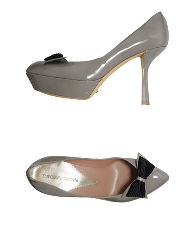 EMPORIO ARMANI - Platform pumps