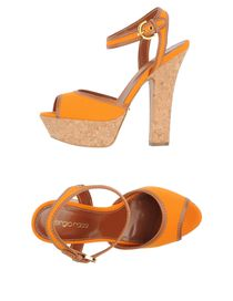 SERGIO ROSSI - Platform sandals