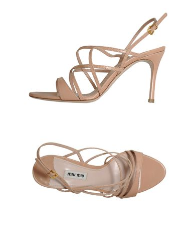 MIU MIU - High-heeled sandals