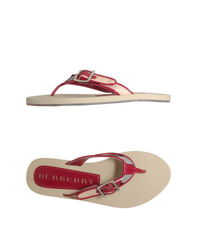 BURBERRY - Flip flops