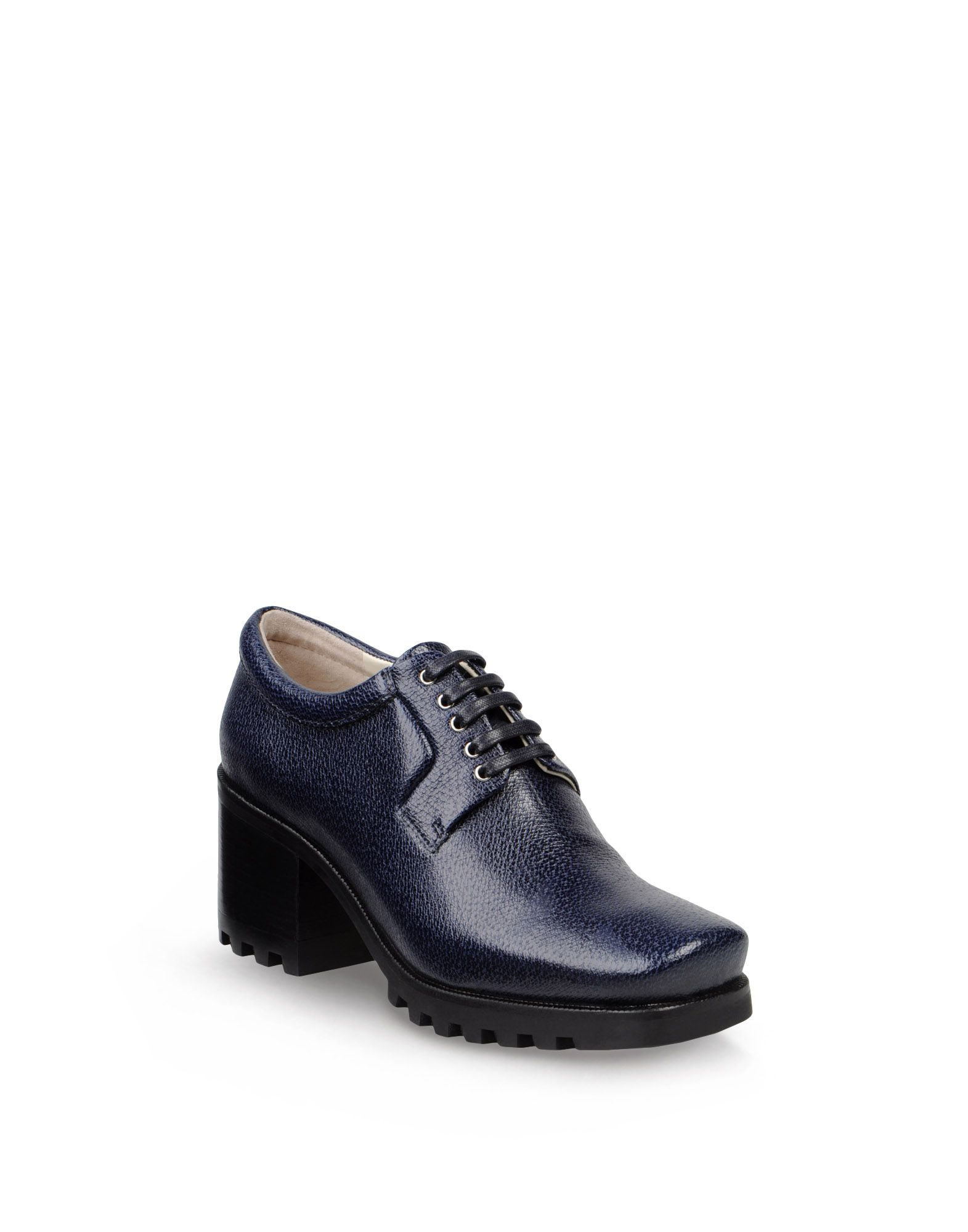 Lace up - JIL SANDER NAVY Online Store