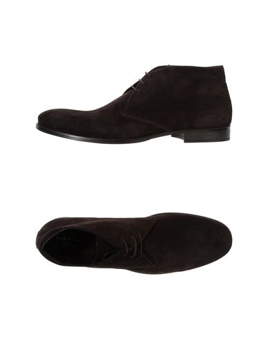CALVIN KLEIN COLLECTION - High-top dress shoe
