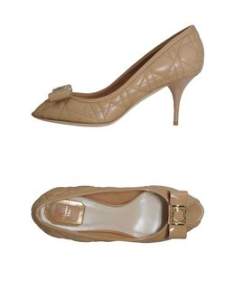 CHRISTIAN DIOR - CALZATURE - Decolletes open toe