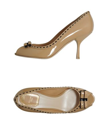 CHRISTIAN DIOR - Closed-toe slip-ons
