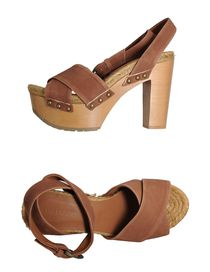 THE SADDLER - Platform sandals