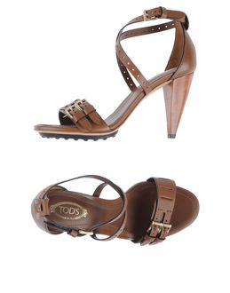 TOD'S - CALZATURE - Sandali con plateau