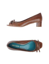 PRADA - Decolletes open toe