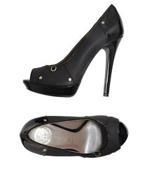 VERSACE - Pumps with open toe