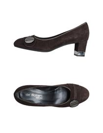 DE ROBERT - Closed-toe slip-ons