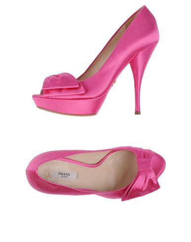 PRADA - Pumps with open toe
