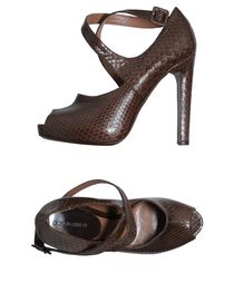 GIORGIO ARMANI - Pumps with open toe