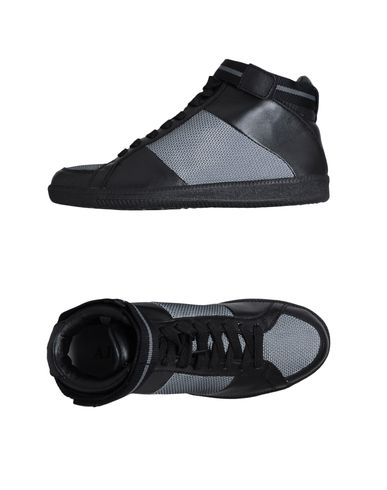 ARMANI JEANS - High-top sneaker