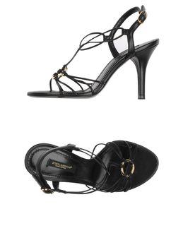 Dolce Amp Gabbana Footwear Highheeled Sandals