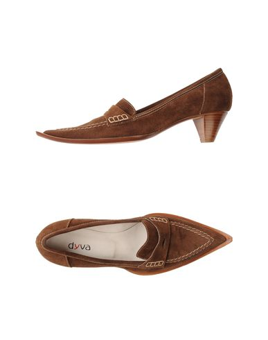 DYVA - Moccasins with heel
