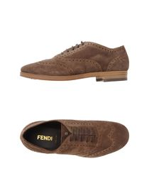 FENDI - Laced shoes