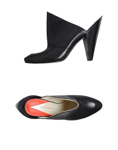 STEPHEN - Open-toe mules