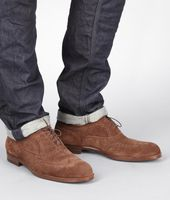 Calf Suede York Shoe