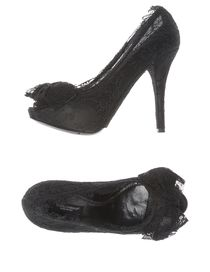 DOLCE & GABBANA - Pumps with open toe