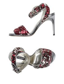 DOLCE & GABBANA - High-heeled sandals