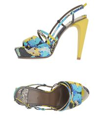 VERSACE COLLECTION - Platform sandals