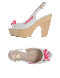 LOVE MOSCHINO - Platform sandals