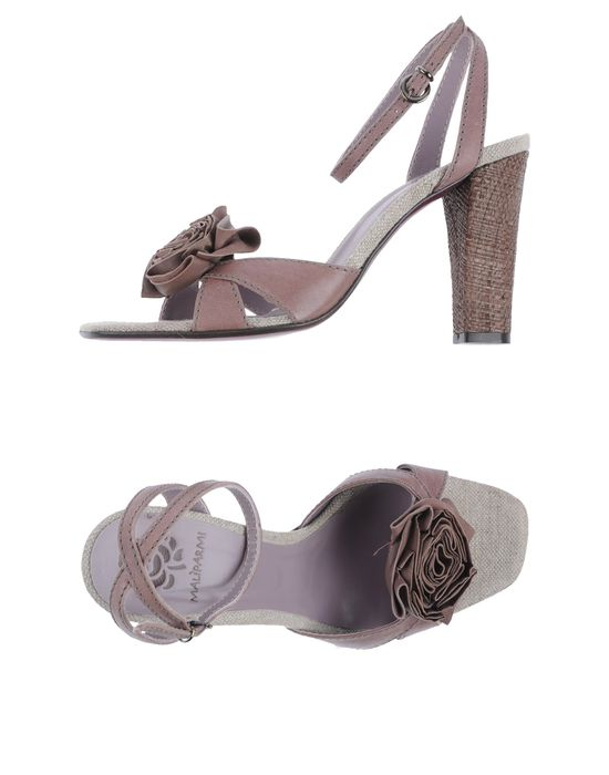 MALIPARMI Босоножки на каблуке