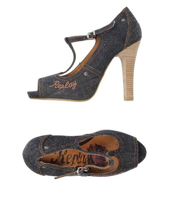 REPLAY Туфли с открытым носком