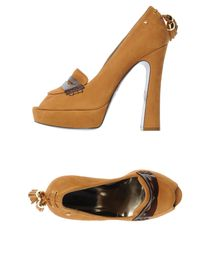 JUST CAVALLI - Pumps with open toe