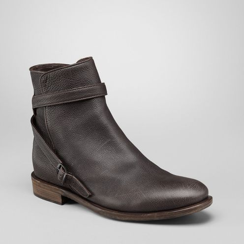Boots and ankle bootsShoesLeatherBrown Bottega Veneta