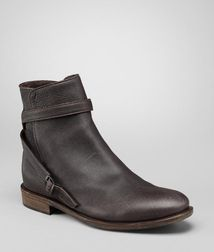 BOTTEGA VENETA - Boots and ankle boots, Espresso Calf Ankle Boot
