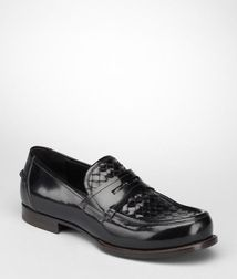 MoccasinsShoesCalf-skin leatherBlack Bottega Veneta
