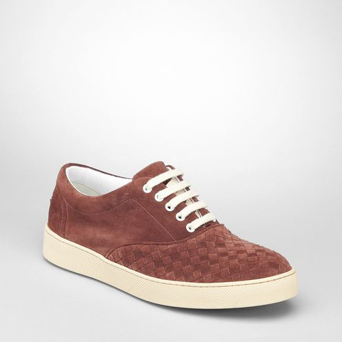 SneakersShoesLeatherRed Bottega Veneta®