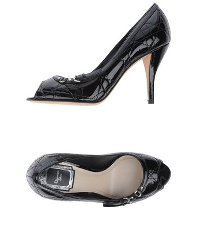 CHRISTIAN DIOR - Pumps with open toe